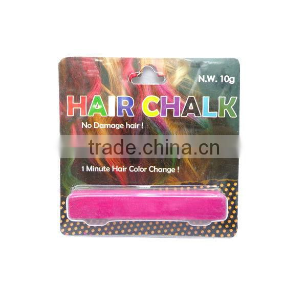 individual temporary hair color chalk