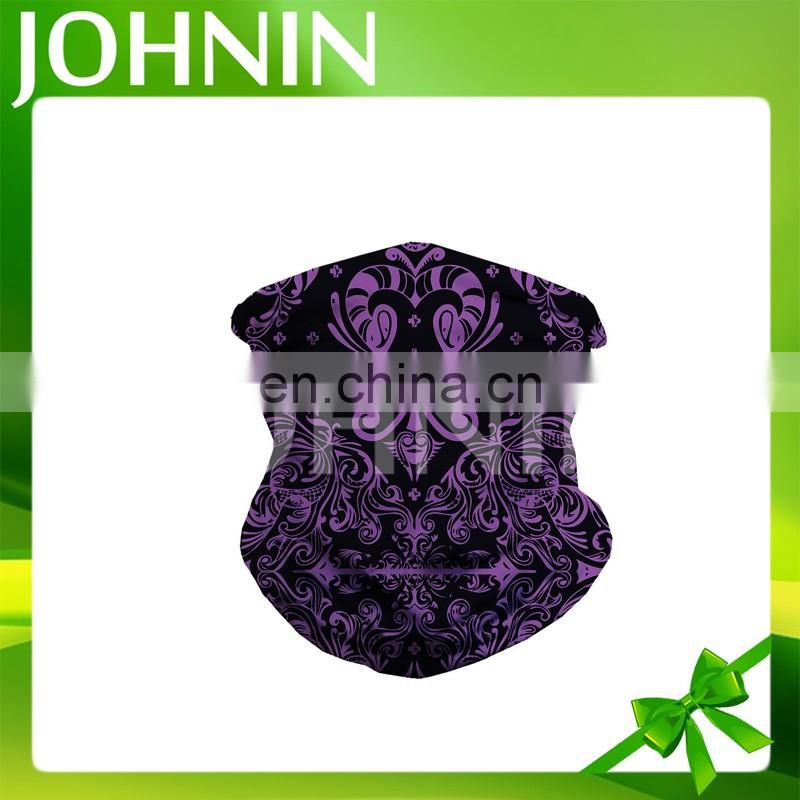 factory promotion top high quality printing polyester custom seamless bandana