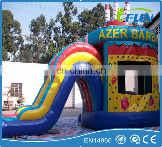Birthday inflatable jumping house /inflatable birthday jumping bounce house / Birthday jumping house inflatable bounce