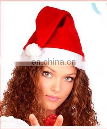 China wholesale christmas gifts decorated lovely artifical christmas santa snapback hats