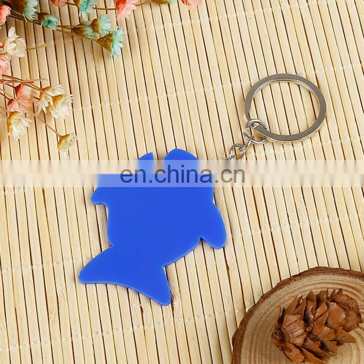 Wholesale High Quality customized fabric keychain