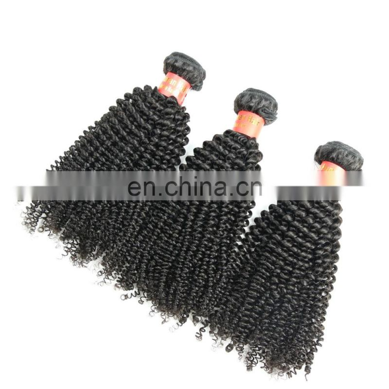 Youth Beauty Wholesale unprocessed mongolian kinky curly hair afro kinky ponytails human hair
