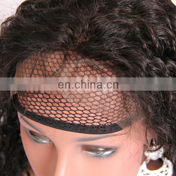 ashion accessory wholesale virgin brazilian hair deep wave grade 5a beautiful full front lace wig