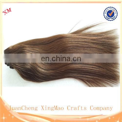very soft Double Drawn Human Hair Weft factory real human hair wholesale hair weave