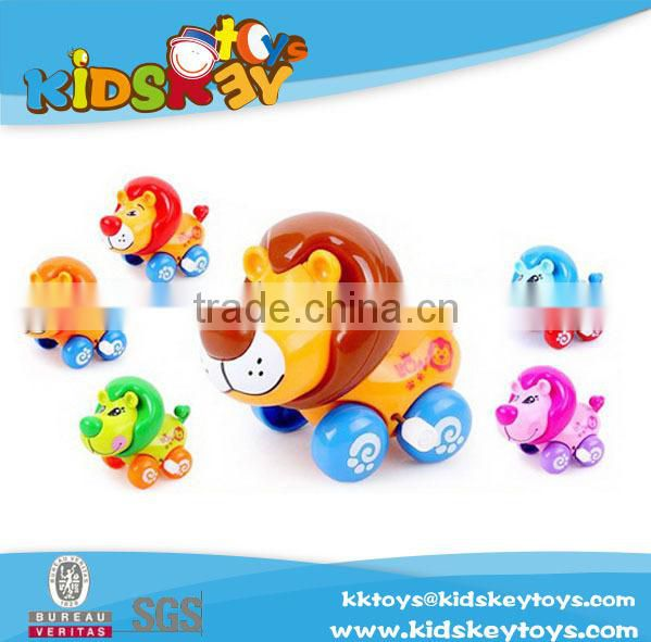 2015 new product wind up plastic toy pig wind up toy small wind up motors