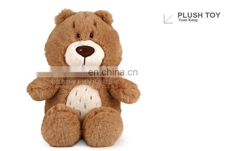 Soft sitting 70cm plush honey teddy bear wit CE/ASTM standard