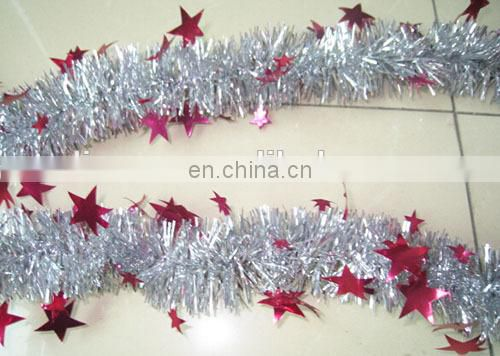 christmas outdoor decoration,Wedding supplies Christmas Coloured Ribbon, madder Color Bar