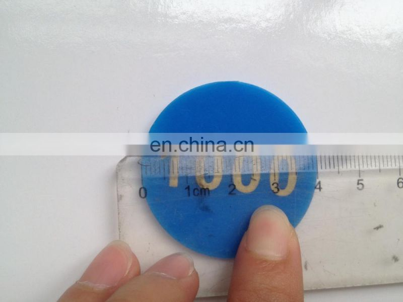 Plastic Chips Game Coin Double Faced Digital Bronzier Bargaining Challenge Coins Plastic Token Coin