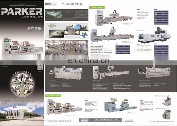 CNC Aluminum milling and cutting machine