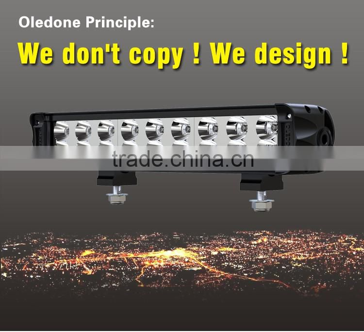 Factory direct offer auto parts Oledone IP68 C ree 14.6inch 90W ATV LED light bar Farm machinery LED lighting bar