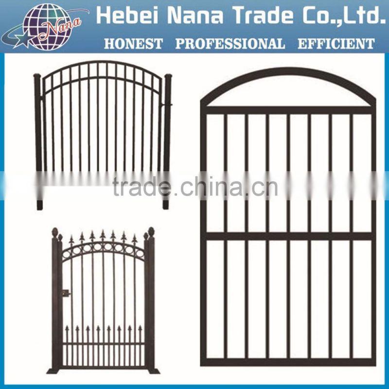 Steel Pipe Gate Design Steel Tubular Gate Steel Gate Design