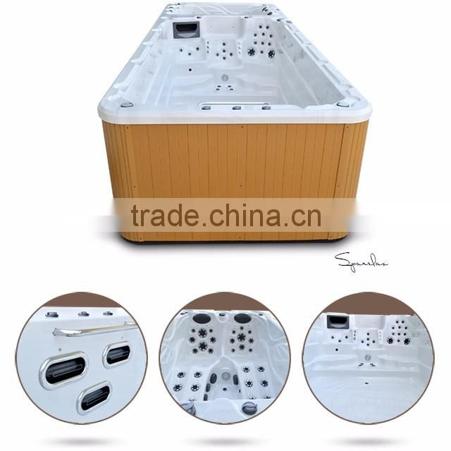 Good filtration system SpaRelax temperature controller fiberglass whirlpool swimming pools