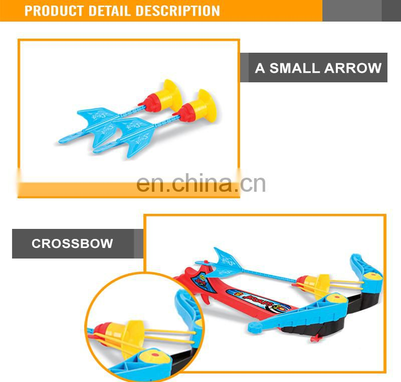 Kid's Toy Crossbow Play Set plastic kinds of bow and arrows