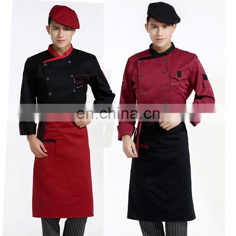 Recycle cheap wholesale custom advertising promotion reuseable cotton apron,cooking apron,kitchen apron