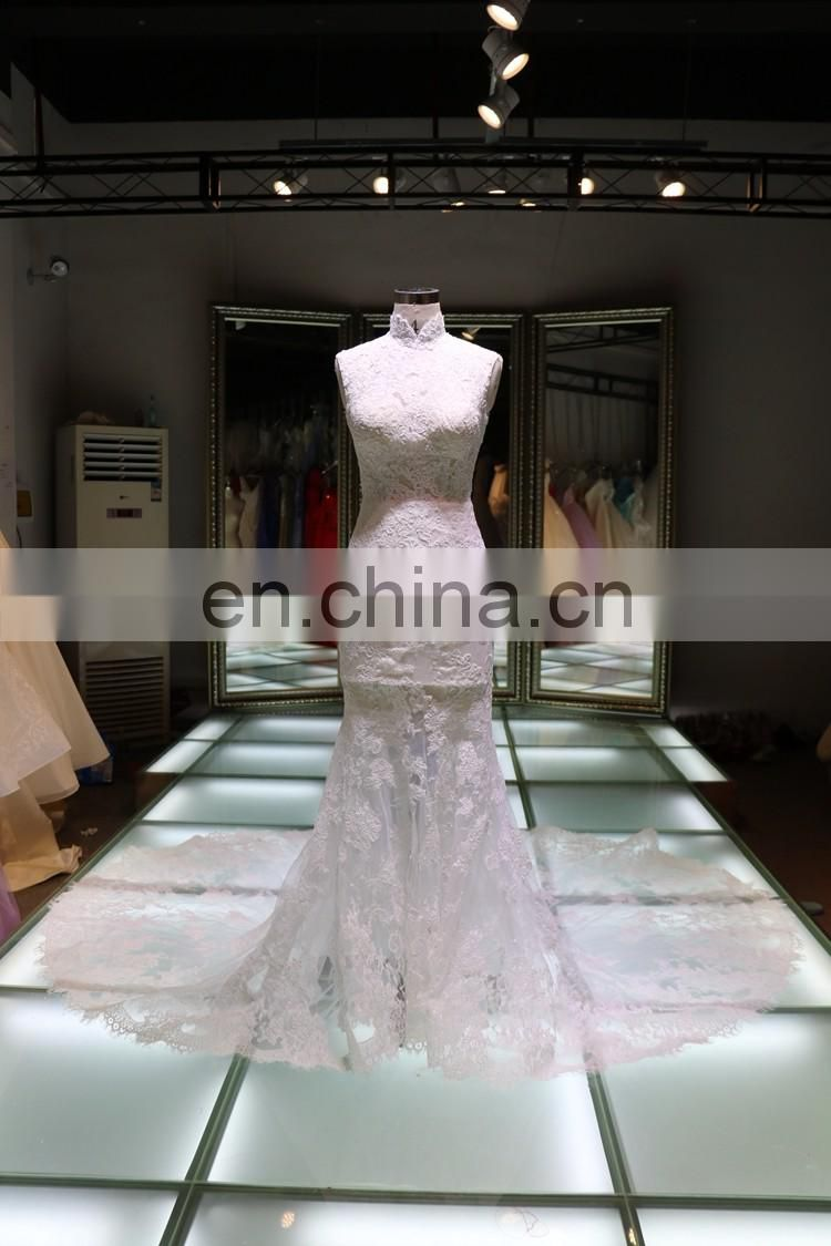 China party dinnder ball gown mermaid wedding dresses in guangzhou