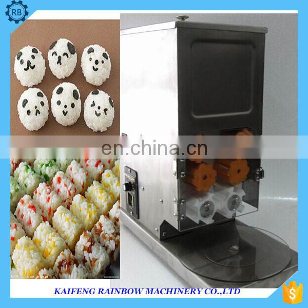 sushi rice roll forming machine for commerical use sushi rice former with good quality