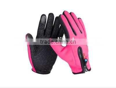 New Arrival Silica Gel Full Finger Men Bicycle Gloves Slip mtb bike guantes