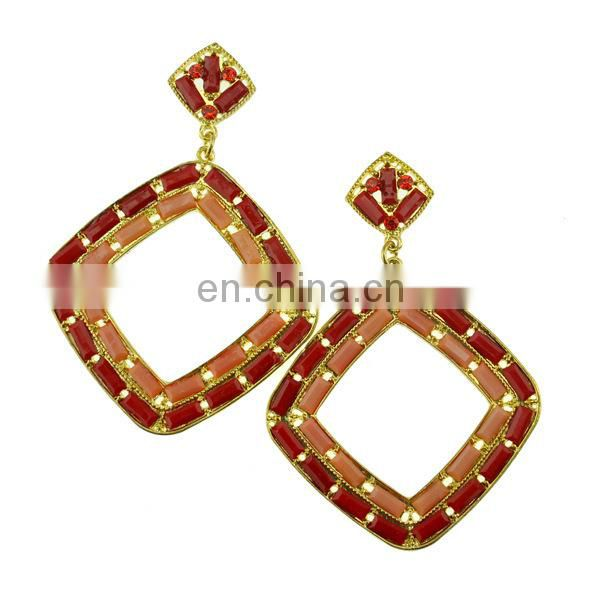 European style Bohemian tassel drop earrings wholesale