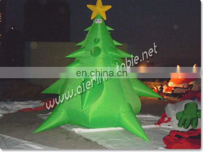 Lovely snowman inflatable christma decoration