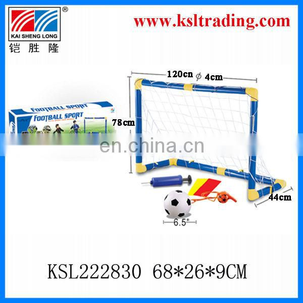 182*85*62cm kids outdoor toy football door toy plastic super football set