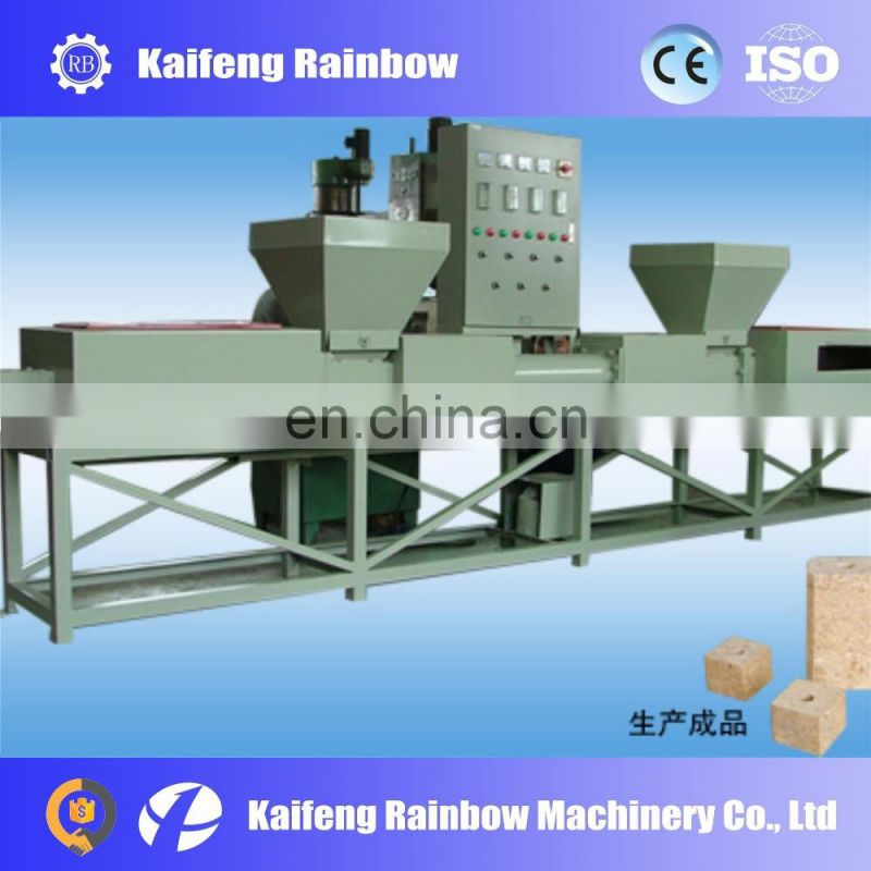 Industrial Made in China wood block form machine compress machine for wood sawdust