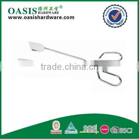 Food Tong with Chrome Plate or STAINLESS STEEL serving tong