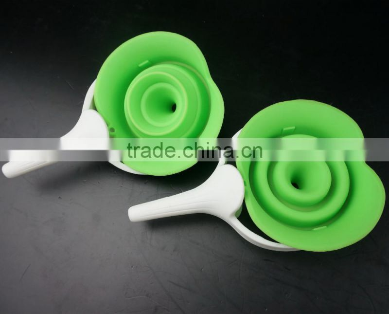 16127 silicone folding funnel with pp handle
