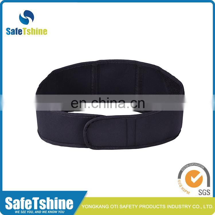OEM service breathable cheap black support waist belt
