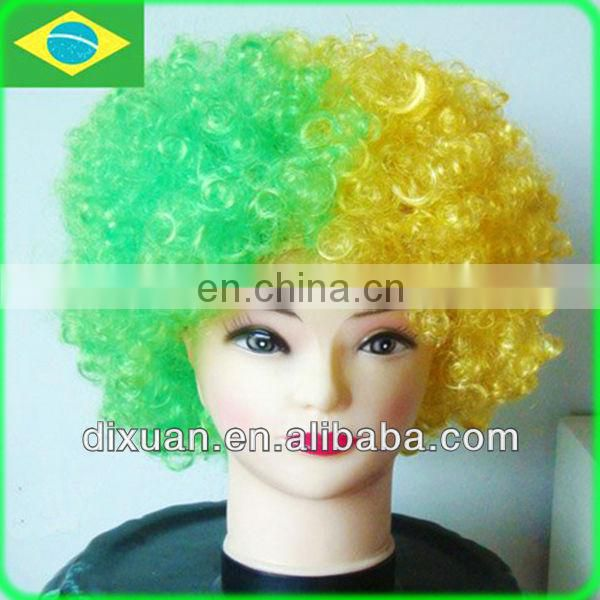 Colorful Fans Football Wig (DX-JF113)