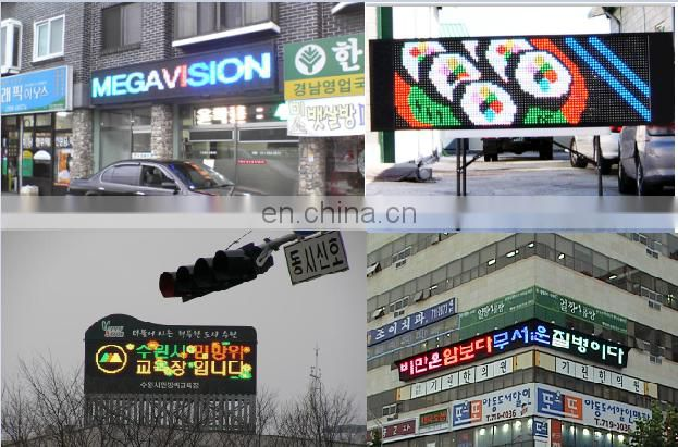 Low Price and good quality P10 full color led outdoor display