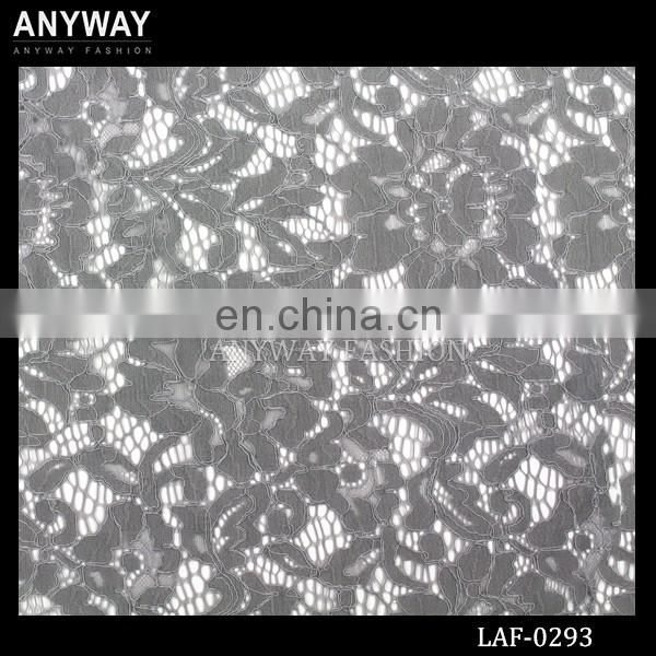 Wholesale lingerie lace fabric fashion floral lace fabric cheap knitting lace fabric for dress