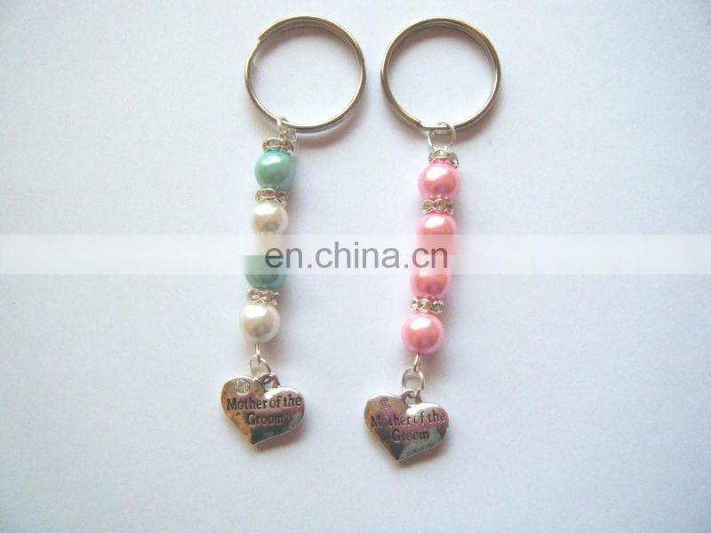 FEMALE WEDDING FAVOR KEY RING GIFT