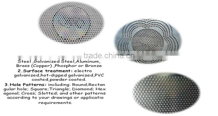 China aluminum alloy decorative perforated metal mesh/perforated metal aluminum mesh speaker grille