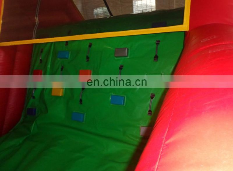 GREEN & RED ROCK CLIMBING OBSTACLE COURSE