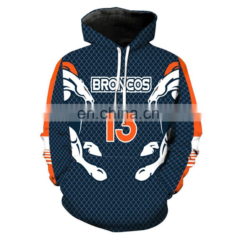 Men's Fleece Pullover Hoodie USA National Football Teams Hooded Sweatshirt