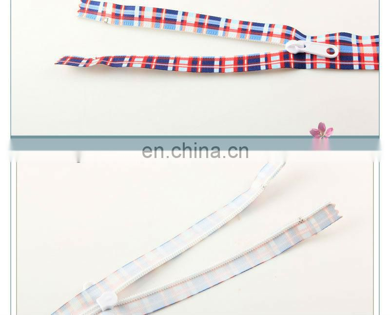 Newest design resin zipper