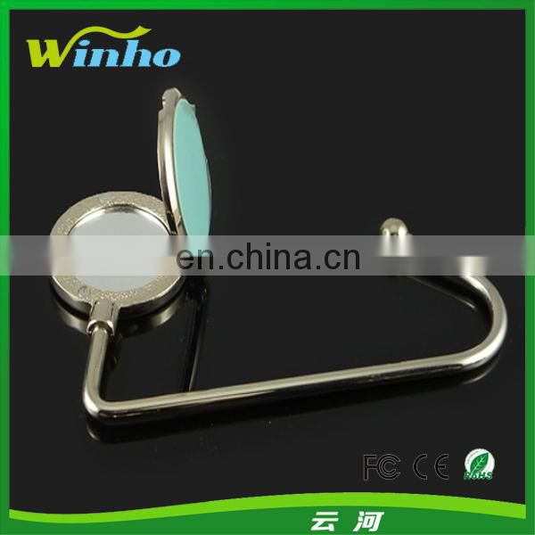 Fashion Purse Holder With Mirror