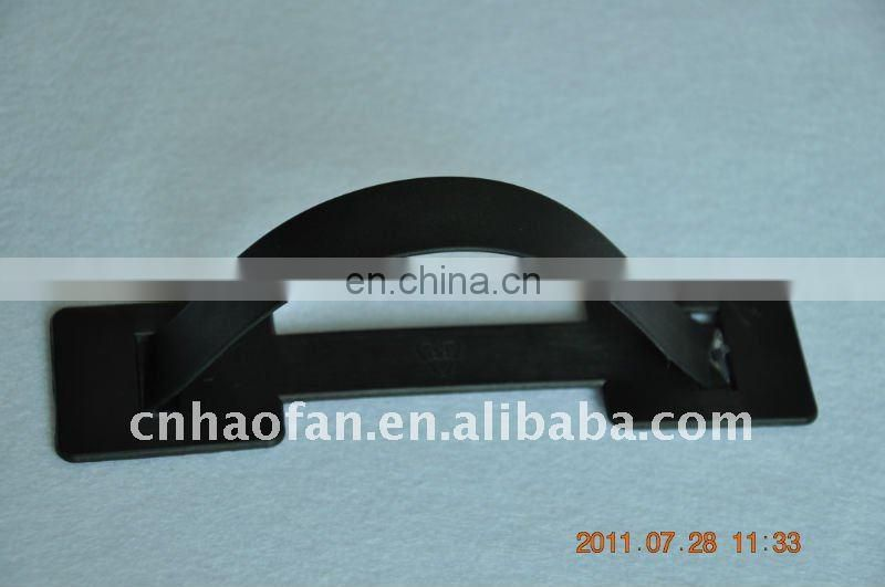 Portable plastic heavy handle for cardboard box