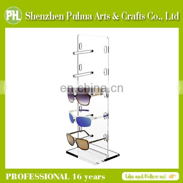 Home Perspex Hook Display, Eyewear Sunglass Display Stand Rack