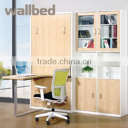 Folding Wall Mounted Bed Murphy Bed with office table SZ-WBA8001