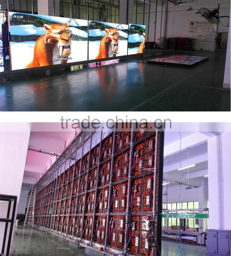 Outdoor P4.81 led display SMD 3 in 1 high quality hd xxx china video screen led 5152 aluminum type