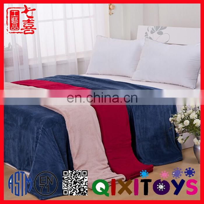 Promotional Custom Throw Flannel Fleece Blanket