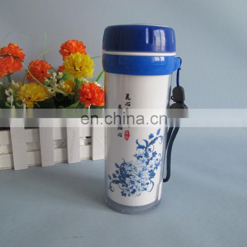 2014 new product plastic sport water cup 380ml