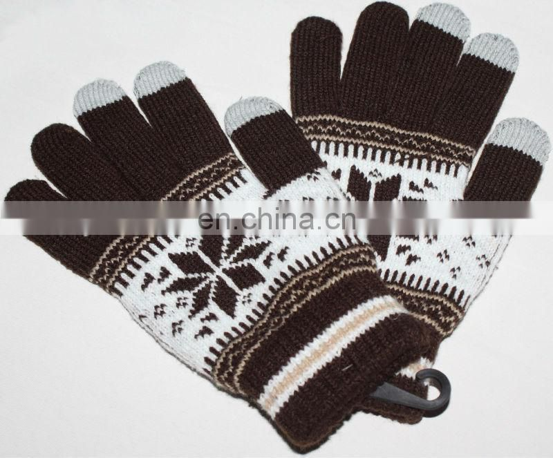 JDG-020 New Fashion women Touch Screen Gloves For smartphone