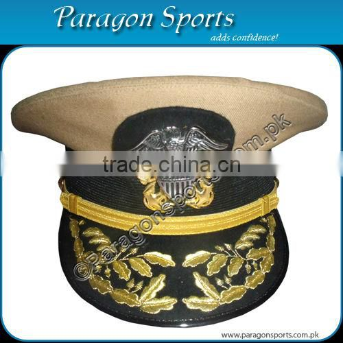 Naval Officer Hat Military Peak Cap