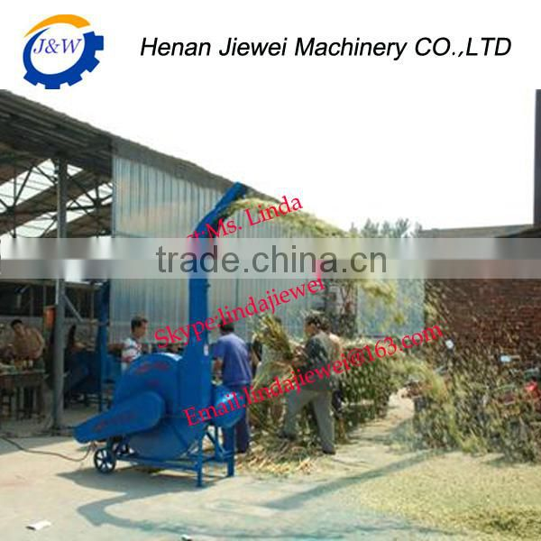 Tractor mounted cow farm fodder chaff cutter , silage cutter , silage chopping machine / feed grass chopper machine