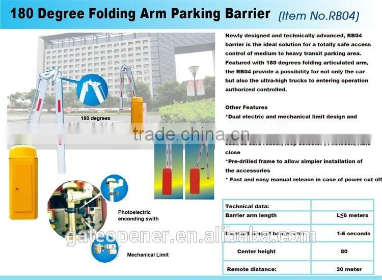 wholesale factory price heavy automatic boom gate barrier