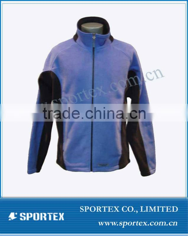 2016 OEM high performance waterproof bonded polar fleece jacket PJ002