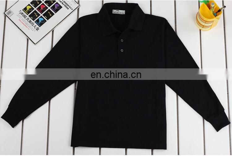 PROMOTIONAL MANS PLAIN LONG SLEEVE POLO SHIRT