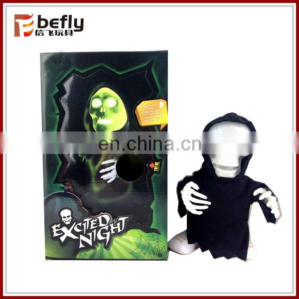 Mini vampire shape toy electric plastic halloween figure